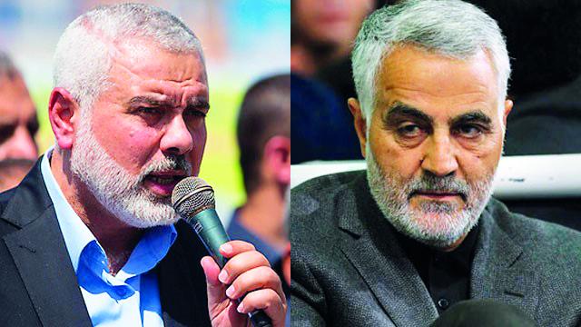 iran to resume financial aid to hamas