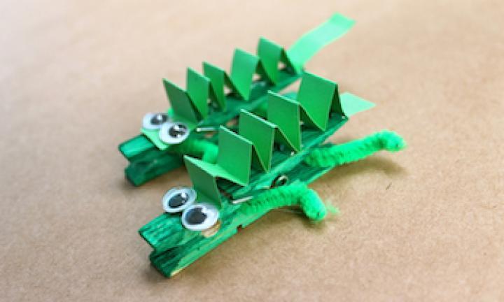 Arts Amp Crafts Crocodile Peg The Jewish Weekly